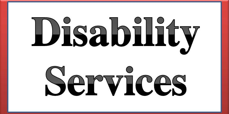 Disablitiy Services button