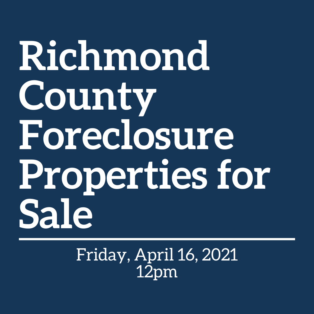 Richmond County Properties for Sale