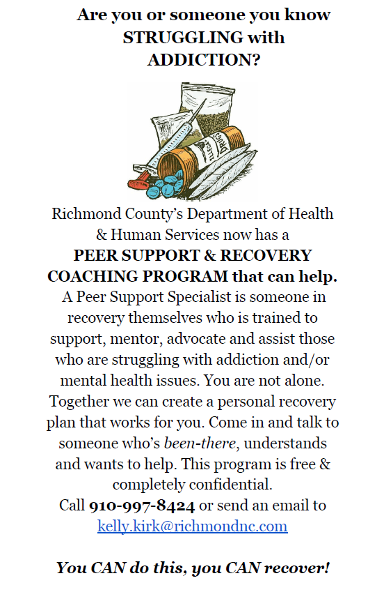 Updated Peer Support Flyer