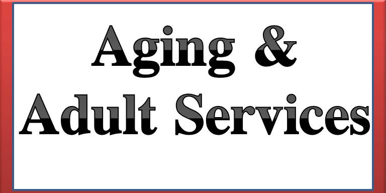 aging and adult services button