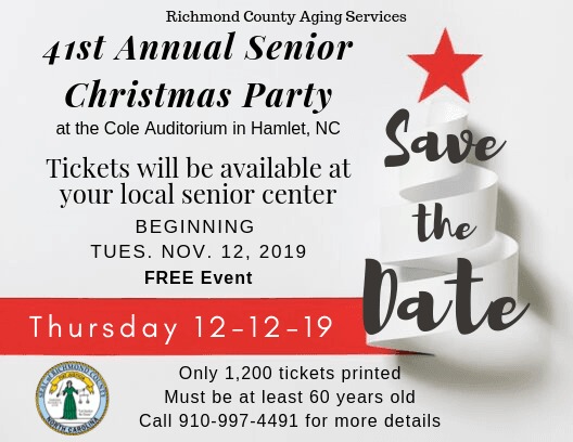 Save the Date- 41st Annual Christmas Party  2019