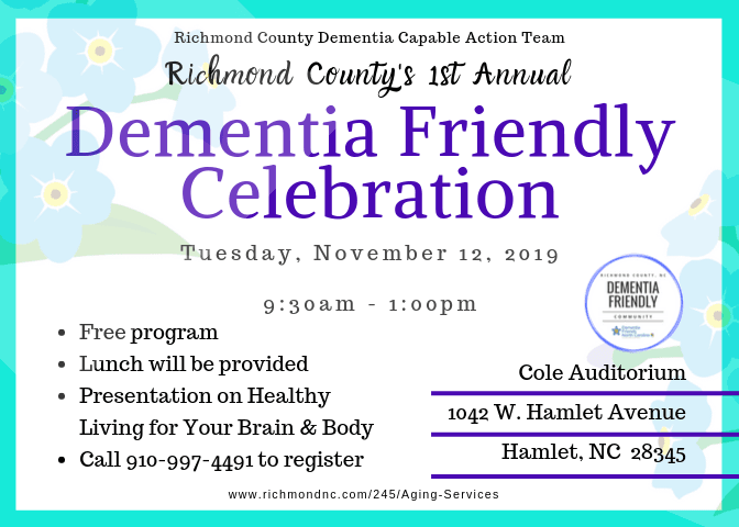 Aging Services- DF 1st Annual Celebration 11-12-19